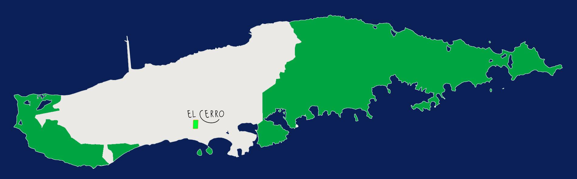 El Cerro Map