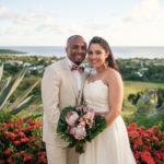 island ocean wedding photos