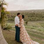 wedding photo outdoor island