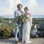 bride groom photo ocean island
